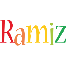 Ramiz birthday logo