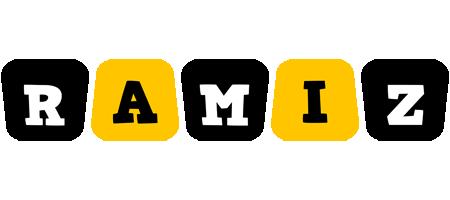 Ramiz boots logo