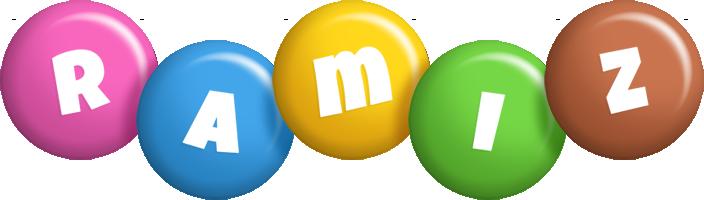 Ramiz candy logo