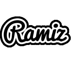 Ramiz chess logo
