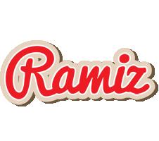 Ramiz chocolate logo