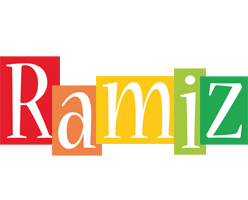 Ramiz colors logo