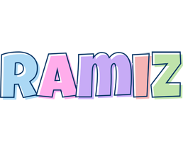 Ramiz pastel logo