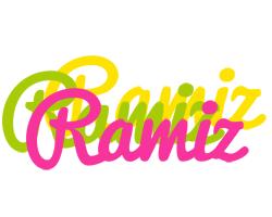 Ramiz sweets logo