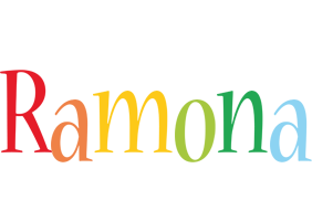 Ramona birthday logo