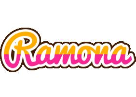 Ramona smoothie logo