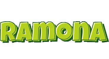 Ramona summer logo