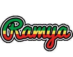 Ramya african logo