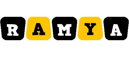 Ramya boots logo