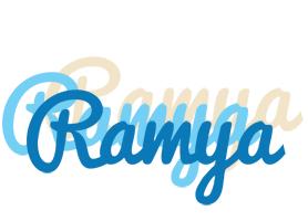 Ramya breeze logo