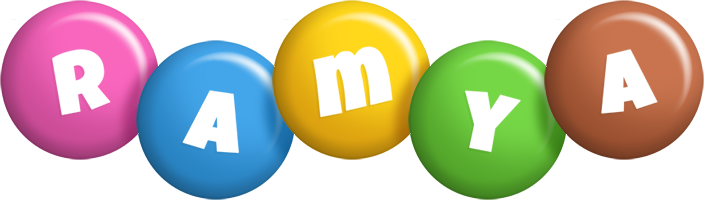 Ramya candy logo