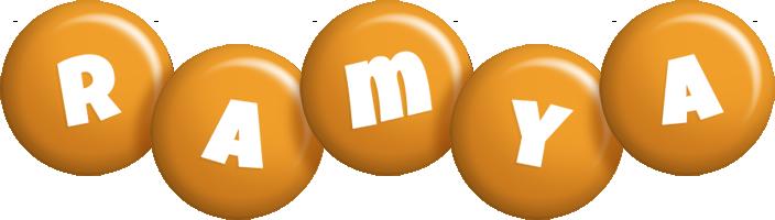 Ramya candy-orange logo