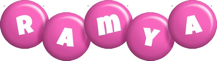 Ramya candy-pink logo
