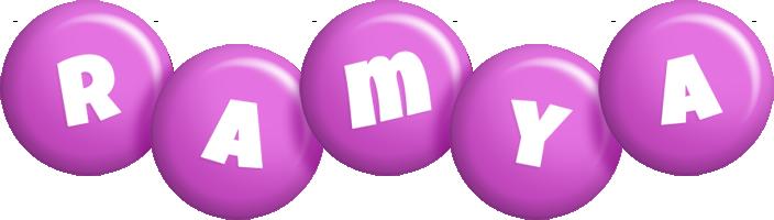 Ramya candy-purple logo
