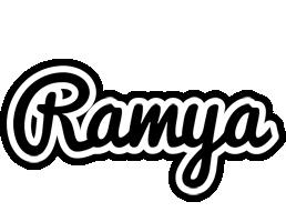 Ramya chess logo