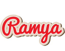 Ramya chocolate logo