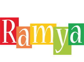 Ramya colors logo
