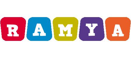 Ramya daycare logo