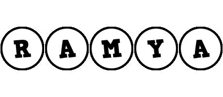 Ramya handy logo