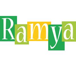Ramya lemonade logo