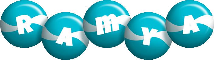 Ramya messi logo