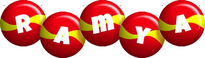 Ramya spain logo