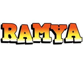 Ramya sunset logo