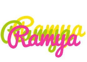 Ramya sweets logo