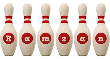 Ramzan bowling-pin logo