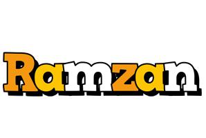 Ramzan cartoon logo