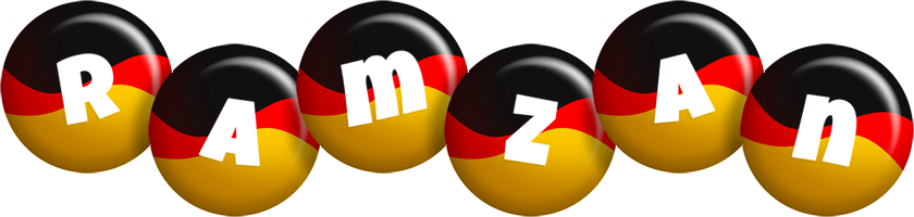 Ramzan german logo