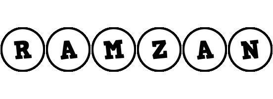 Ramzan handy logo