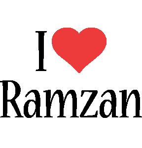 Ramzan i-love logo