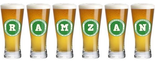 Ramzan lager logo