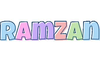 Ramzan pastel logo
