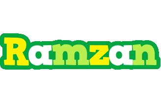 Ramzan soccer logo