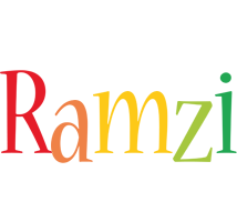 Ramzi birthday logo