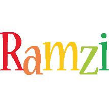Ramzi birthday logo