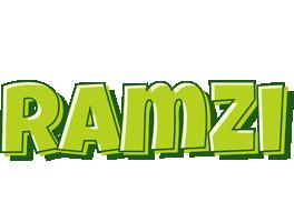 Ramzi summer logo
