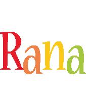 Rana birthday logo