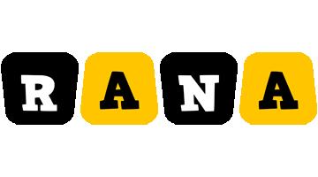 Rana boots logo