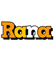 Rana cartoon logo