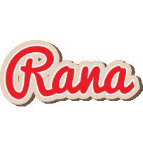 Rana chocolate logo
