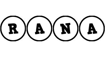 Rana handy logo