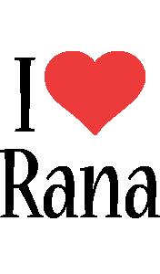 Rana i-love logo
