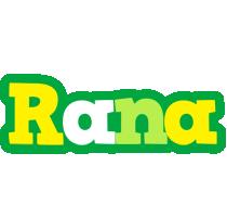 Rana soccer logo