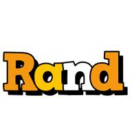 Rand cartoon logo