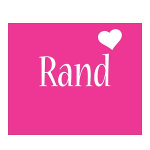 Rand love-heart logo