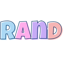 Rand pastel logo