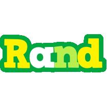 Rand soccer logo